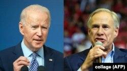Perezida Joe Biden na Buramatari wa Texas, Greg Abbott