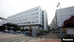 독일 베를린의 북한대사관.