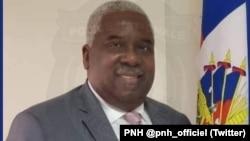 海地國家警察局官方推特賬號發布的克里斯蒂安·伊曼紐爾·薩農資料照片