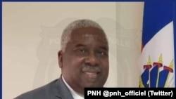 海地国家警察局官方推特账号发布的克里斯蒂安·伊曼纽尔·萨农资料照片