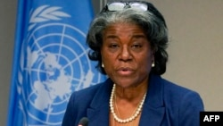 美國常駐聯合國代表琳達·托馬斯-格林菲爾德大使