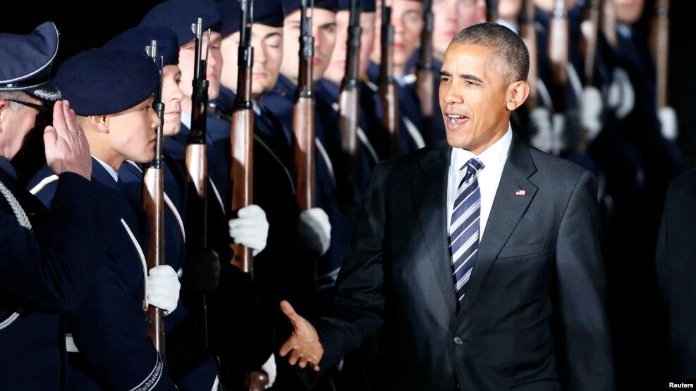 Gjermanët vlerësojnë vizitën e Presidentit Obama në Berlin