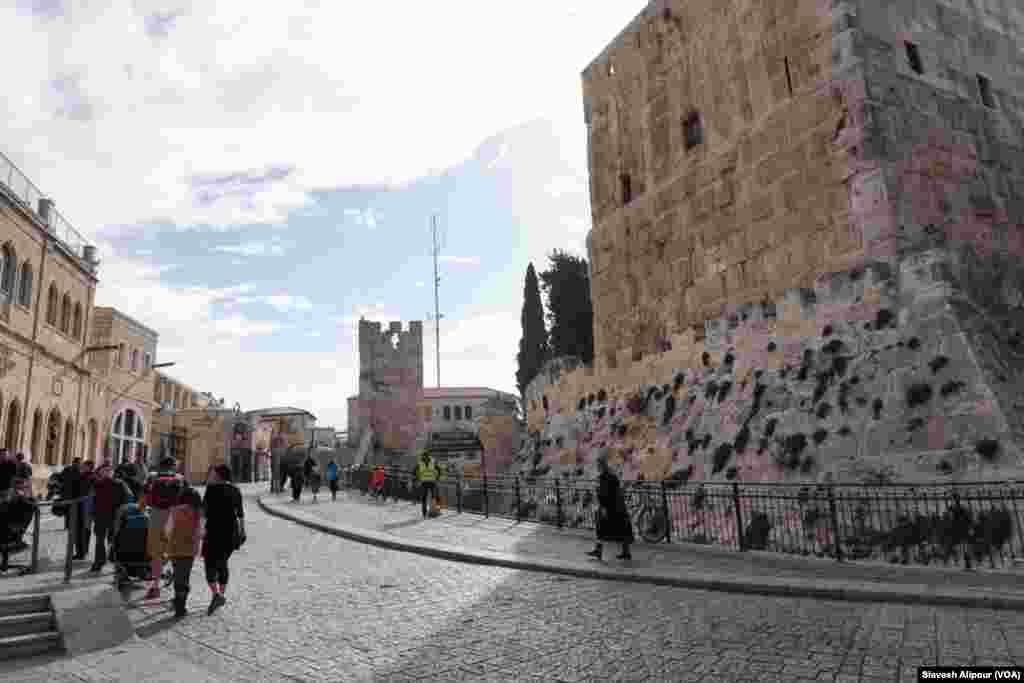 بخش قدیمی شهر اورشلیم - بخش غربی