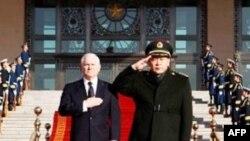 Çin ABŞ müdafiə naziri Robert Geytsin fikirləri ilə razılaşır