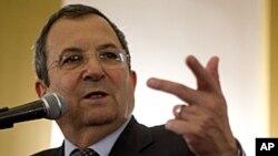 以色列国防部长巴拉克4月30号对外媒发表讲话