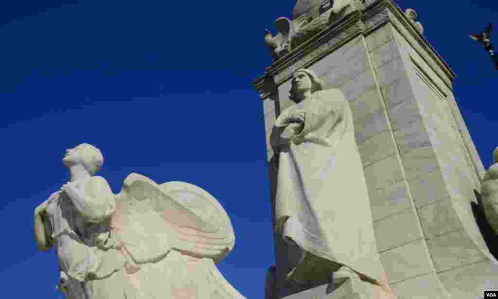 Памятник Колумбу . Вашингтон