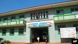 Hospital Simão Mendes, em Bissau, para onde foram levados os mortos e os feridos (foto de arquivo)