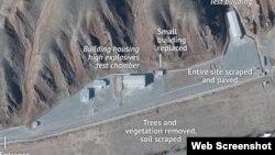 تصاویر ماهواره ای از سایت نظامی پارچین در ایران در دیلی بیست