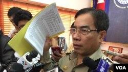 Phát ngôn viên Cảnh sát Quốc gia Kirth Chantharith