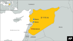 叙利亚的地理位置。(资料照片)