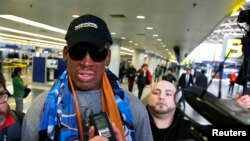 L'ancienne star du basket Dennis Rodman