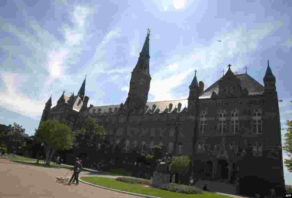 Главный корпус Джорджтаунского университета