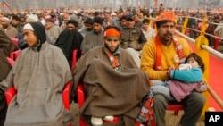 Indijski premijer Modi na skupu u okviru kampanje u Srinagaru, Indijski Kašmir