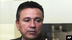 El fiscal del caso, Neil H. MacBride, afirmó que el general colombiano Mauricio Santoyo habría cometido los delitos entre el año 2000 y 2008.