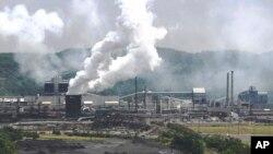 美國賓州一鋼鐵廠。