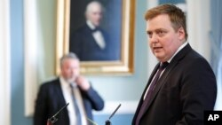 Thủ Tướng Iceland Sigmundur David Gunnlaugsson.