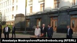 Сенаторы США Рон Джонсон и Крис Мерфи в Киеве. 5 сентября 2019 г.
