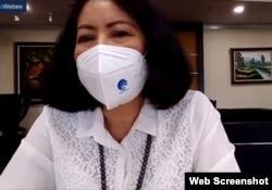 Sekretaris Jenderal Kementerian Komunikasi dan Informatika Rosarita Niken Widiastuti. (Foto: screenshot)