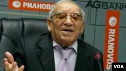 Tarix elmləri doktoru, professor Süleyman Əliyarlı