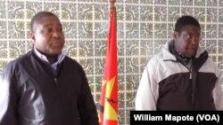 Filipe Nyusi e Ossufo Momade, na Beira