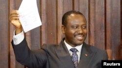 Guillaume Soro, homme-clé de la scène politique ivoirienne et probable candidat à la prochaine présidentielle, a Abidjan, Côte d'Ivoire, 9 janvier 2017.