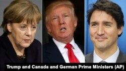 در حالیکه صدراعظم کانادا از مهاجرین استقبال می کند، صدراعظم آلمان اقدام رئیس جمهور ترمپ را خلاف کنوانسیون ژینف، عنوان کرده است