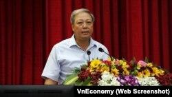 Ông Phan Đình Đức, thành viên Hội đồng thành viên PVN, bị khởi tố ngày 18/12/2017.