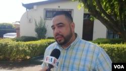 Daniel Esquivel, esposo de una de las detenidas involucradas en la protesta, aseguró que la acción les ha costado fuertes maltratos por parte de los custodios.