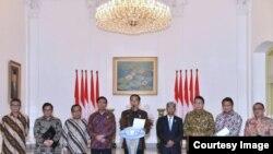 Presiden Joko Widodo di Istana Bogor, 7 Desember 2017. (Foto: Biro Pers RI)