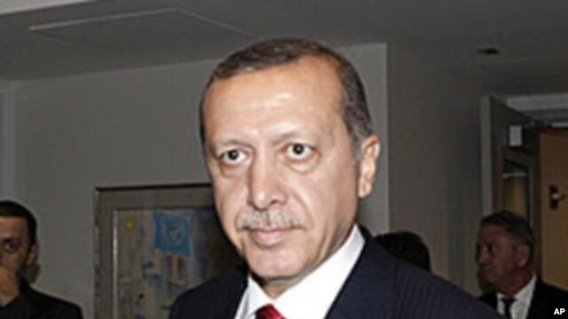 Turkish Prime Minister Recep Tayyip Erdogan during the 66th UN General Assembly at UN Headquarters in New York, September  22,  2011.