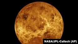 Planet Venus dibuat dengan data dari pesawat ruang angkasa Magellan dan Pioneer Venus Orbiter. Pada hari Rabu, 2 Juni 2021, administrator baru NASA, Bill Nelson, mengumumkan dua misi robotik baru ke planet terpanas tata surya, selama pidato utama pertaman