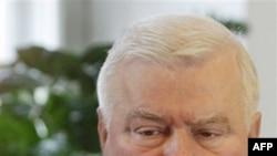 Cựu tổng thống và nhà hoạt động cho quyền công nhân Ba Lan Lech Walesa