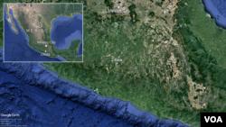 멕시코 게레로 주 지틀라라 지역.
