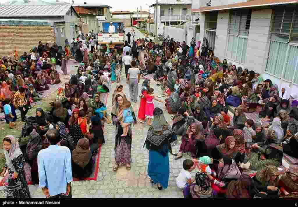 فارغ التحصیلی طلاب ترکمن