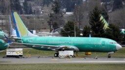 Một chiếc Boeing 737 Max 8 của hãng hàng không China Southern Airlines