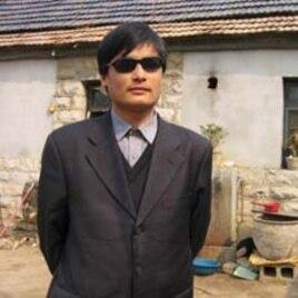 Chinese activist Chen Guangchen