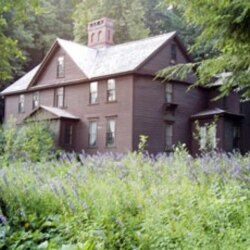 The home where Louisa May Alcott grew up in Concord, Massachusetts