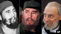 Fidel Castro qua năm tháng