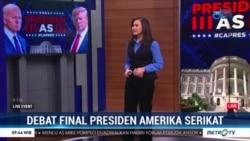 Laporan Langsung VOA untuk Metro TV : Debat Terakhir Calon Presiden AS