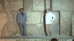 اهرام سه گانه مصر: خاصیت های گرمایشی سنگ های مرموز