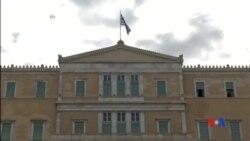 2015-03-10 美國之音視頻新聞: 歐元區財長敦促希臘加速改革談判