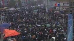 Multitudinarias protestas contra el terrorismo en Afganistán