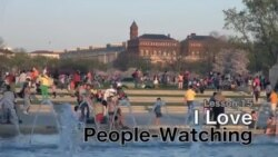 Lesson 15: I Love People-Watching!