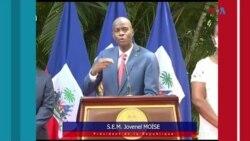 Ayiti; Prezidan Jovenel Moise mande patisipsyon aktè yo pou ede mete fen nan ensekirite a ki pa sispann ogmante.