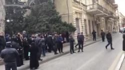 """""""Nardaran işi"""" - məhkəmənin qarşısı (günortadan sonra)"""