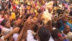 救濟物資正運送給羅興亞兒童