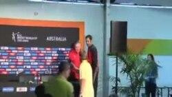 تیم کرکت افغانستان در برابر بنگله دیش