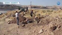 Hasankeyf'in Mezarları da Taşınıyor