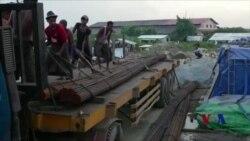 缅甸外国投资区引燃对土地侵占的愤怒