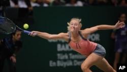 Petenis Rusia, Maria Sharapova menang mudah atas Venus Williams di Australia Terbuka, Jumat malam 18/1 (foto: dok).